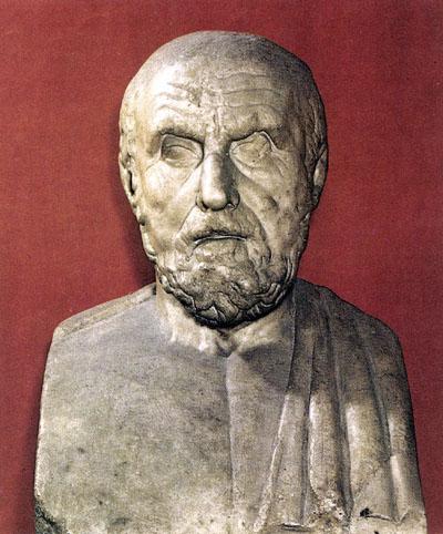 Busto de Hipocrates. Museos Capitolinos. Roma