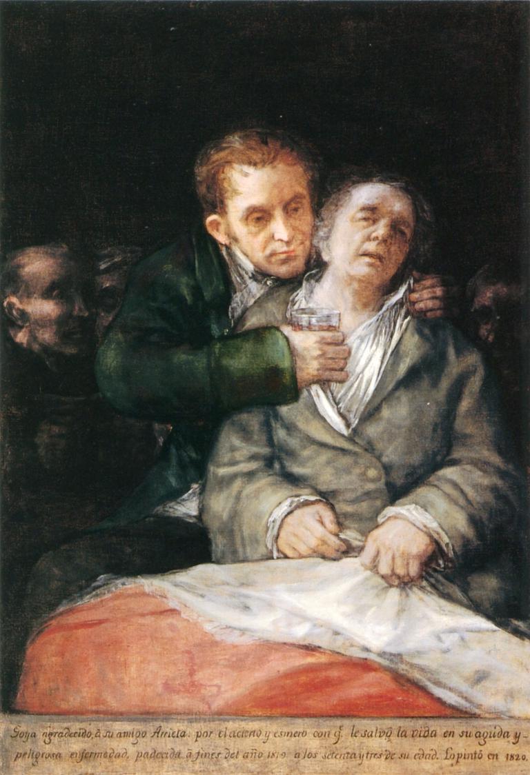 Goya y su médico, el doctor García Arrieta
