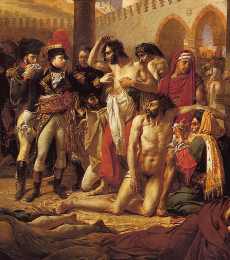 Antoine-Jean_Gros_-_Bonaparte_visitant_les_pestiférés_de_Jaffa (2)